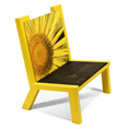 image of camelback chair