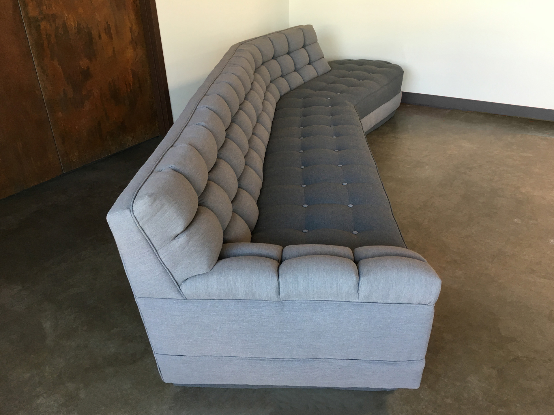 Side detail of Couch Lounger