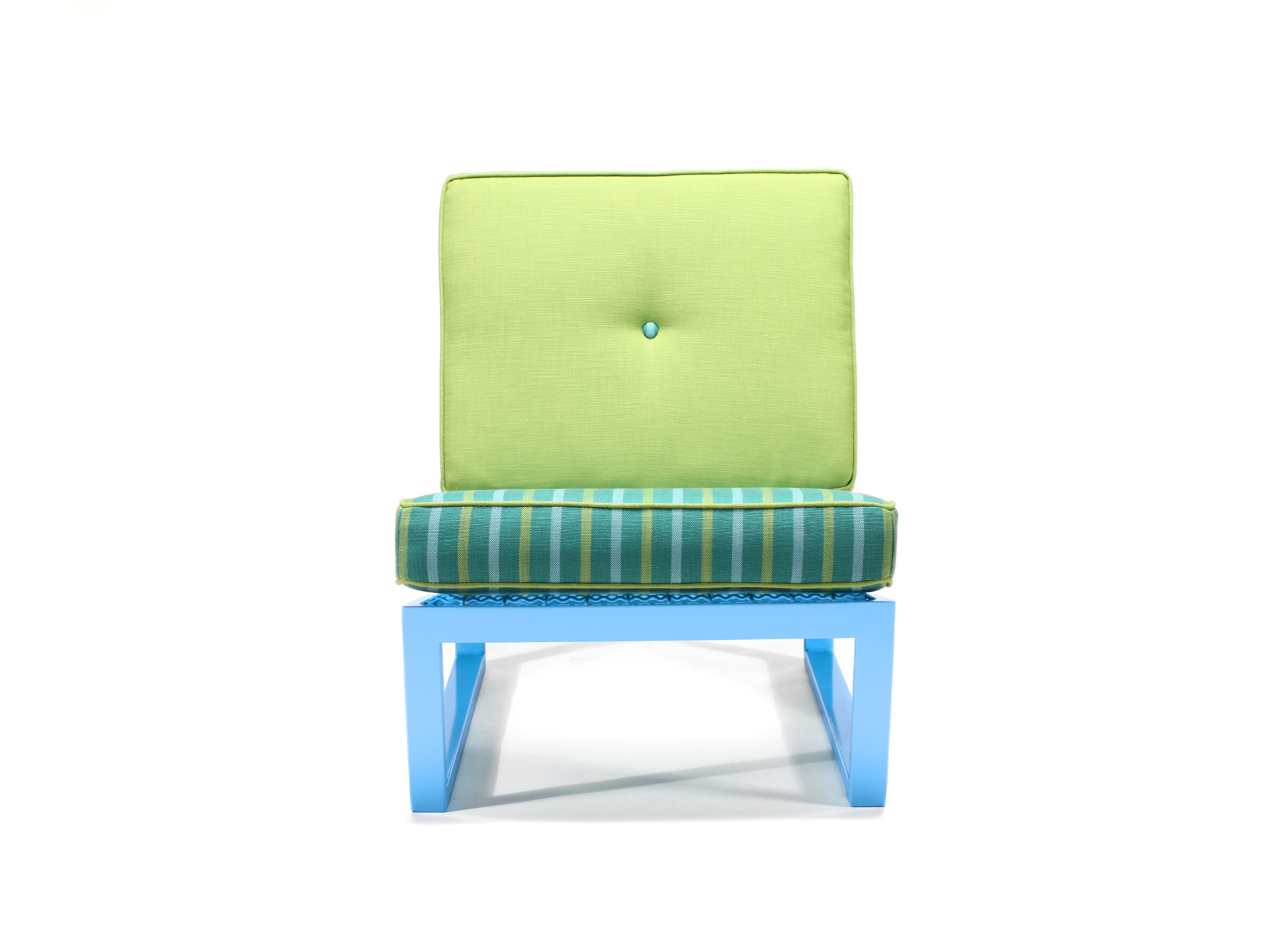 Del Calle chair shown from the front
